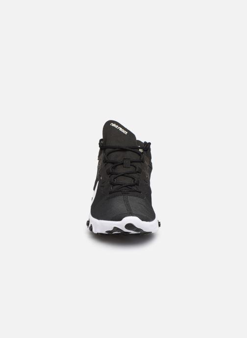 Baskets Nike Nike React Element 55 Noir vue portées chaussures