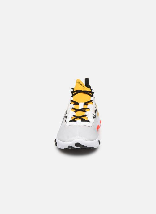 Sneaker Nike Nike React Element 55 weiß schuhe getragen