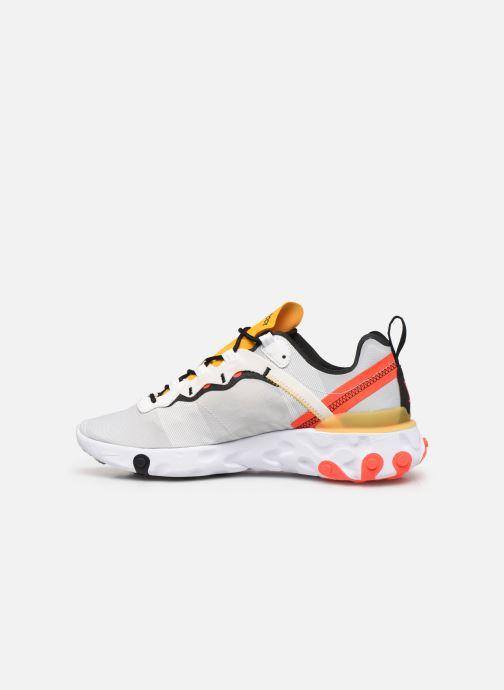 Sneaker Nike Nike React Element 55 weiß ansicht von vorne