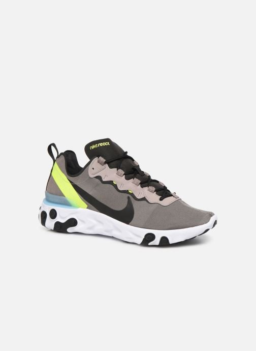 Sneakers Nike Nike React Element 55 Brun detaljerad bild på paret