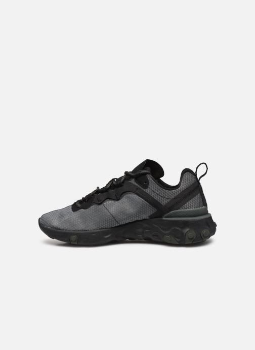 Deportivas Nike Nike React Element 55 Negro vista de frente