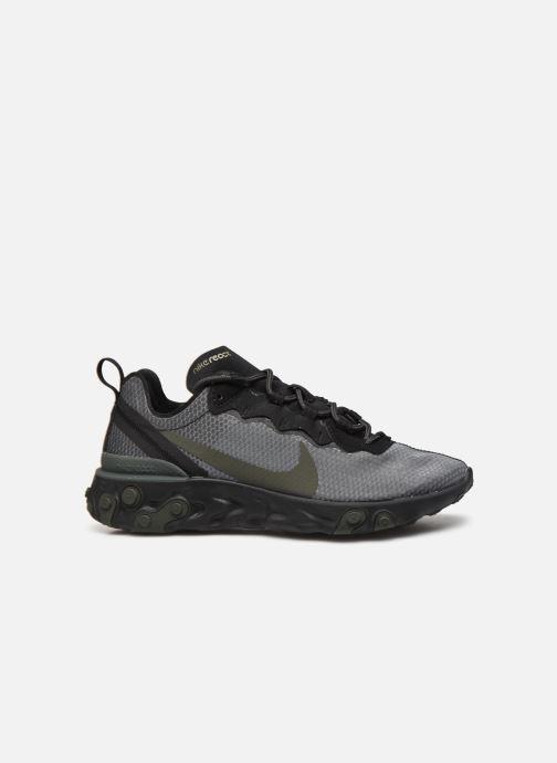 Deportivas Nike Nike React Element 55 Negro vistra trasera