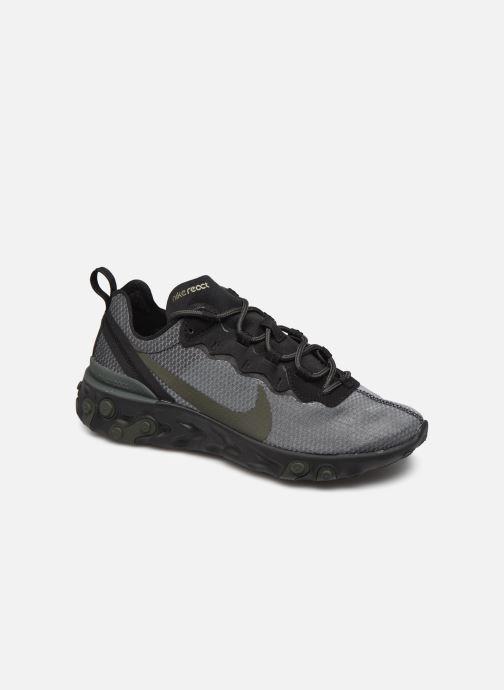 Deportivas Nike Nike React Element 55 Negro vista de detalle / par