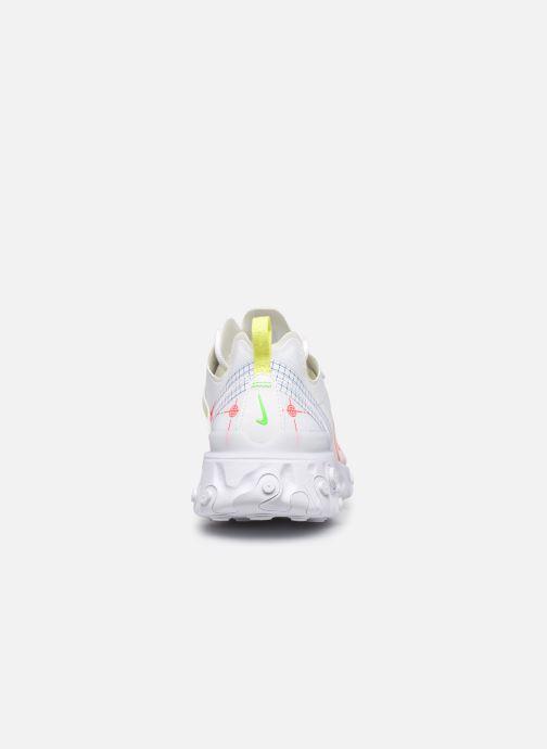 Deportivas Nike Nike React Element 55 Blanco vista lateral derecha