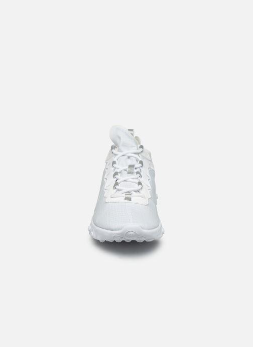 Baskets Nike Nike React Element 55 Se Su19 Blanc vue portées chaussures