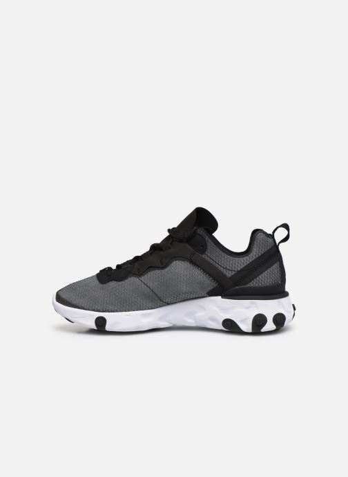 Trainers Nike Nike React Element 55 Se Black front view