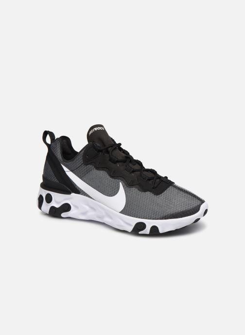Deportivas Nike Nike React Element 55 Se Negro vista de detalle / par