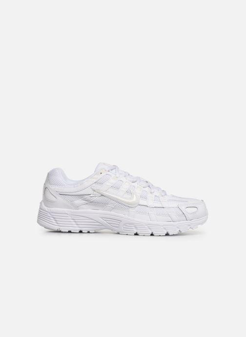 Deportivas Nike Nike P-6000 Blanco vistra trasera