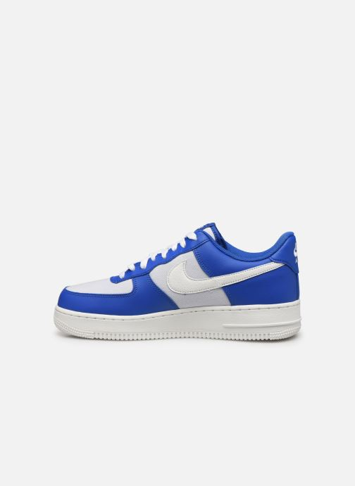 Baskets Nike Air Force 1 '07 1 Bleu vue face
