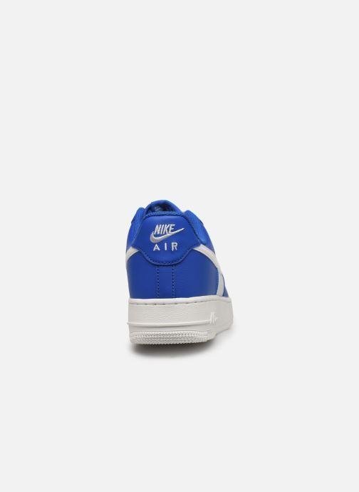 Baskets Nike Air Force 1 '07 1 Bleu vue droite