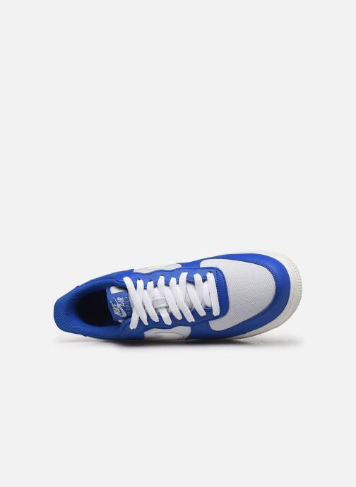 Baskets Nike Air Force 1 '07 1 Bleu vue gauche