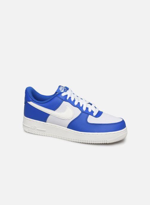 Baskets Nike Air Force 1 '07 1 Bleu vue détail/paire