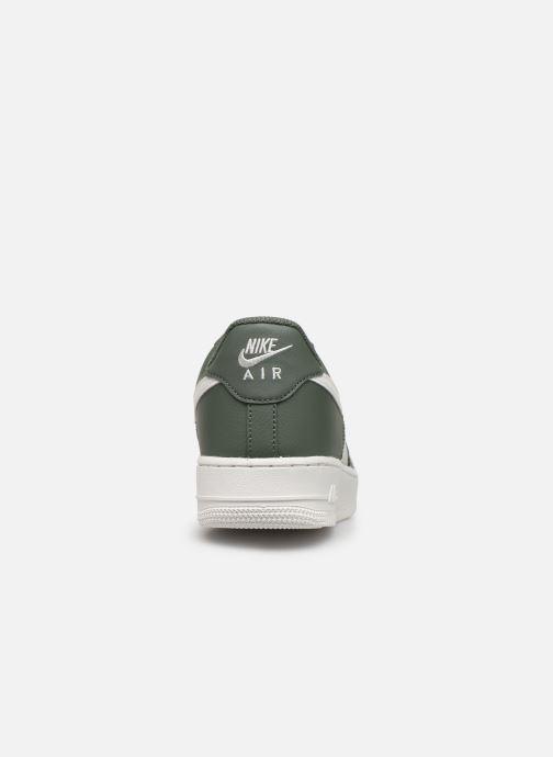 Sneaker Nike Air Force 1 '07 1 grün ansicht von rechts