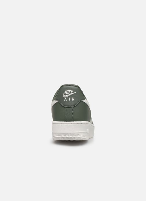 Baskets Nike Air Force 1 '07 1 Vert vue droite