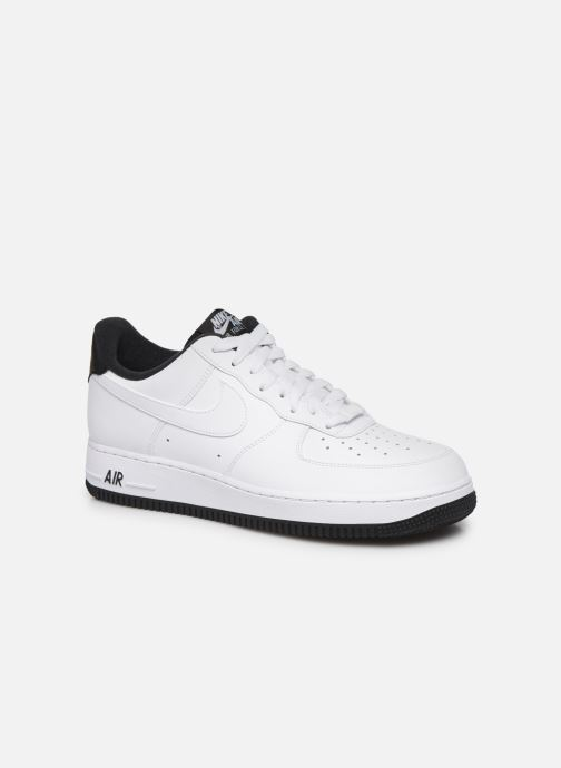 Deportivas Nike Air Force 1 '07 1 Blanco vista de detalle / par