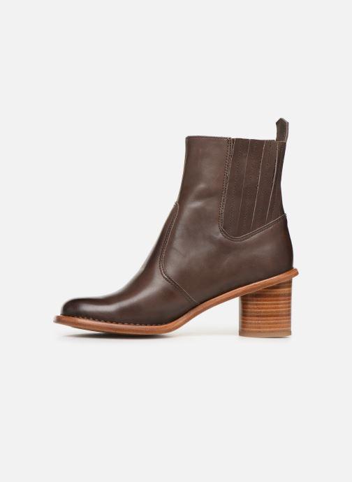 Boots en enkellaarsjes Neosens DEBINA Bruin voorkant
