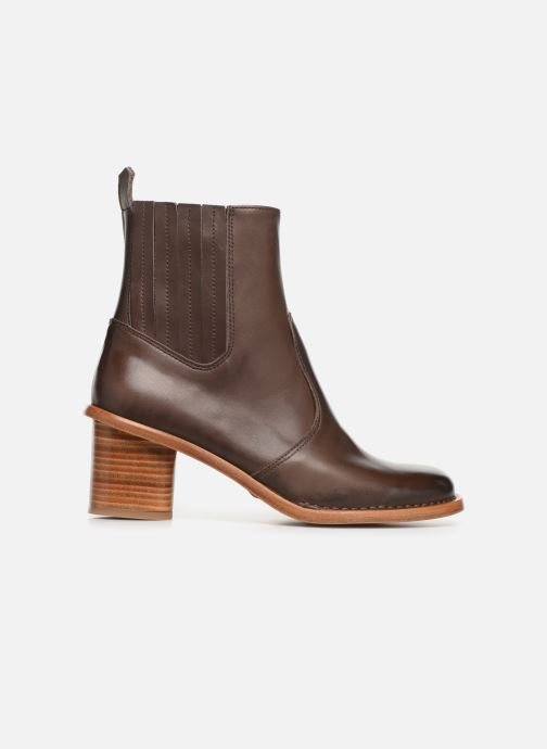 Boots en enkellaarsjes Neosens DEBINA Bruin achterkant