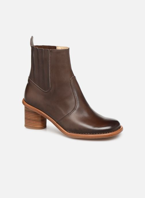 Boots en enkellaarsjes Neosens DEBINA Bruin detail