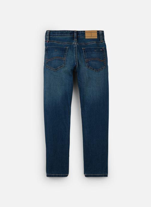 Vêtements Tommy Hilfiger Scanton Slim Bleu vue bas / vue portée sac