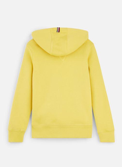 Vêtements Tommy Hilfiger Essential Hoodie Jaune vue bas / vue portée sac
