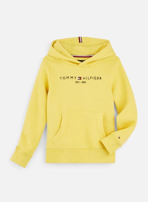 Vêtements Tommy Hilfiger Essential Hoodie Jaune vue détail/paire