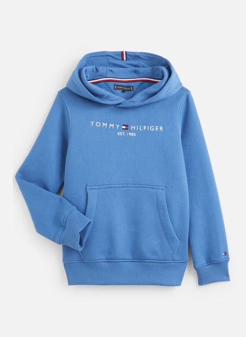 Vêtements Tommy Hilfiger Essential Hoodie Bleu vue détail/paire