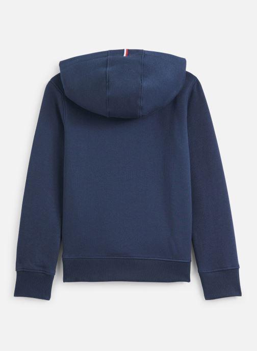 Vêtements Tommy Hilfiger Essential Hoodie Bleu vue bas / vue portée sac