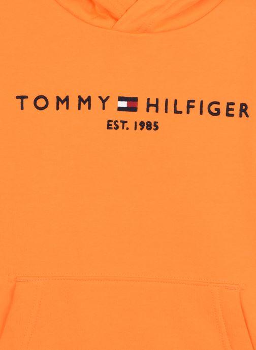 Vêtements Tommy Hilfiger Essential Hoodie Orange vue face