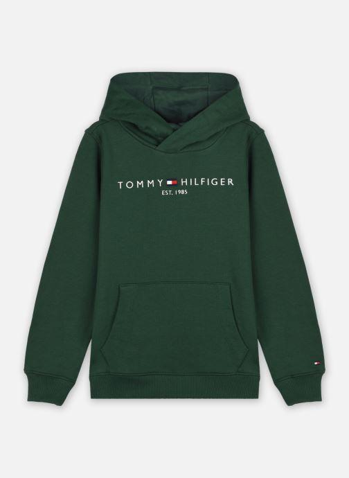 Vêtements Tommy Hilfiger Essential Hoodie Vert vue détail/paire