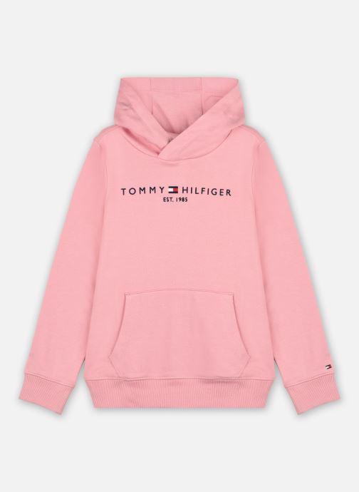Ropa Tommy Hilfiger Essential Hoodie Rosa vista de detalle / par