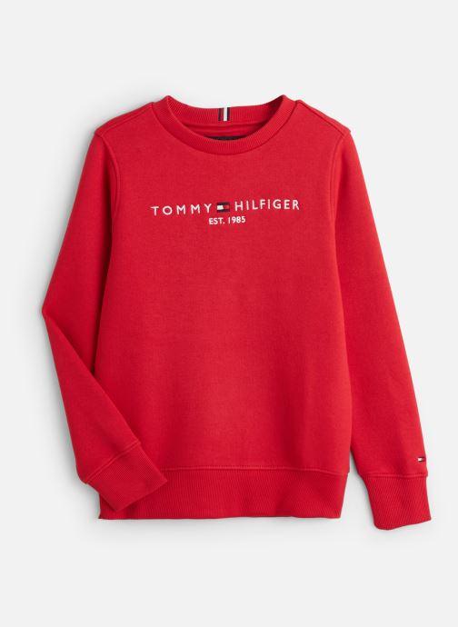 Vêtements Tommy Hilfiger Essential Cn Rouge vue détail/paire