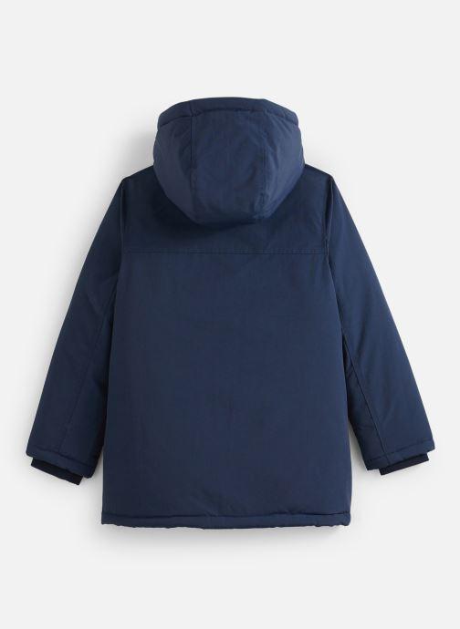 Vêtements Tommy Hilfiger Padded Parka Bleu vue bas / vue portée sac