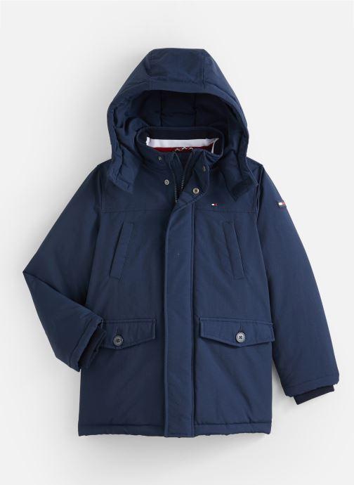 Vêtements Tommy Hilfiger Padded Parka Bleu vue détail/paire