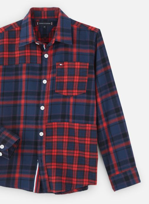Kleding Tommy Hilfiger Mixed Check Rood model