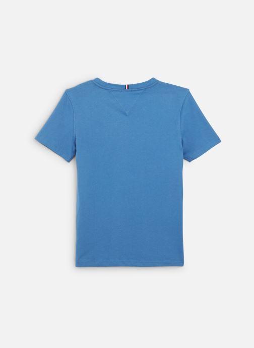Vêtements Tommy Hilfiger Essential Hilfiger Tee S/S Bleu vue bas / vue portée sac