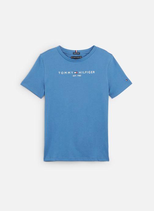 Vêtements Tommy Hilfiger Essential Hilfiger Tee S/S Bleu vue détail/paire