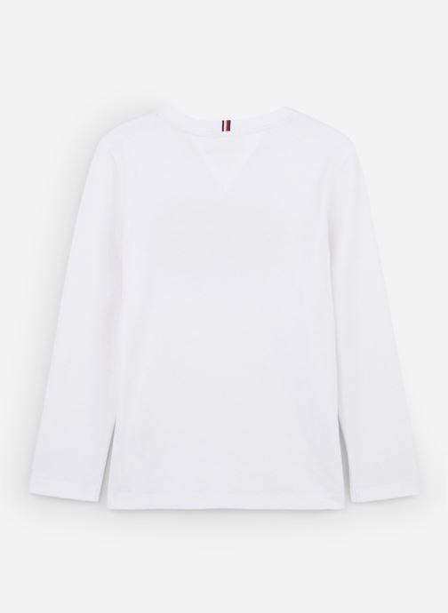 Vêtements Tommy Hilfiger Aj Sticker Print Blanc vue bas / vue portée sac