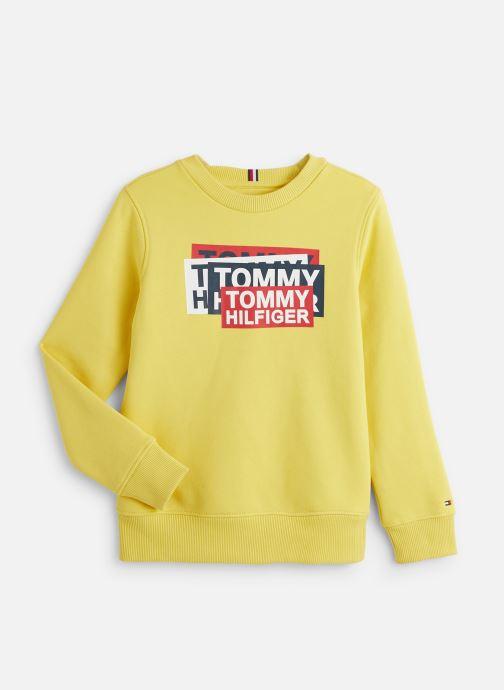Vêtements Tommy Hilfiger Tommy Fun Gaming Jaune vue détail/paire