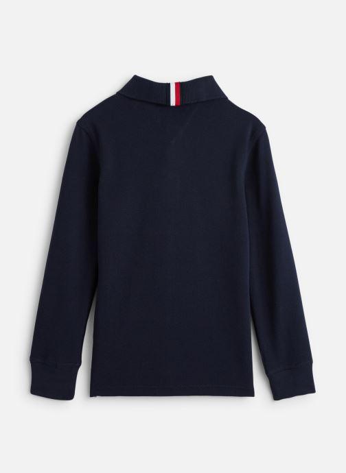Vêtements Tommy Hilfiger Colorblock Polo Bleu vue bas / vue portée sac