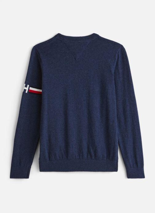 Vêtements Tommy Hilfiger Essential Cotton/Cashmere Sweater Bleu vue bas / vue portée sac