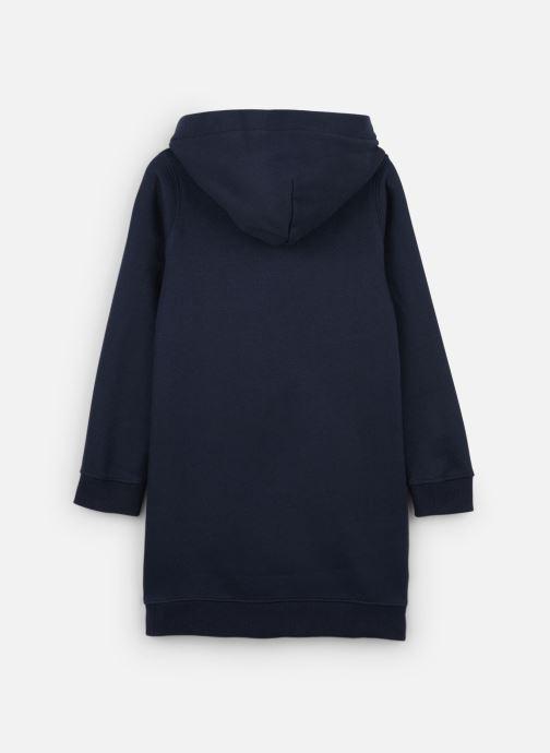 Vêtements Tommy Hilfiger Essential Hoodie Sweatdress Bleu vue bas / vue portée sac