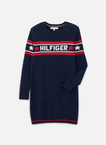 Robe midi - Graphic Tommy Star Sweater Dress