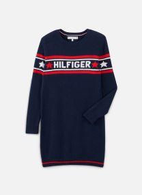 Robe midi - Graphic Tommy Star Sweater Dress
