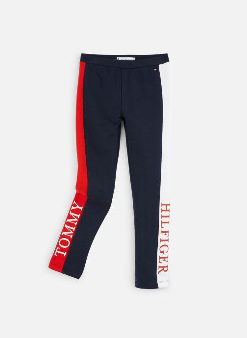 Vêtements Tommy Hilfiger Essential Logo Legging Bleu vue détail/paire