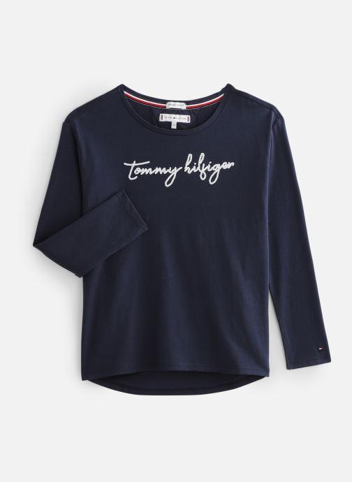 Vêtements Tommy Hilfiger Sequins Graphic Bleu vue détail/paire