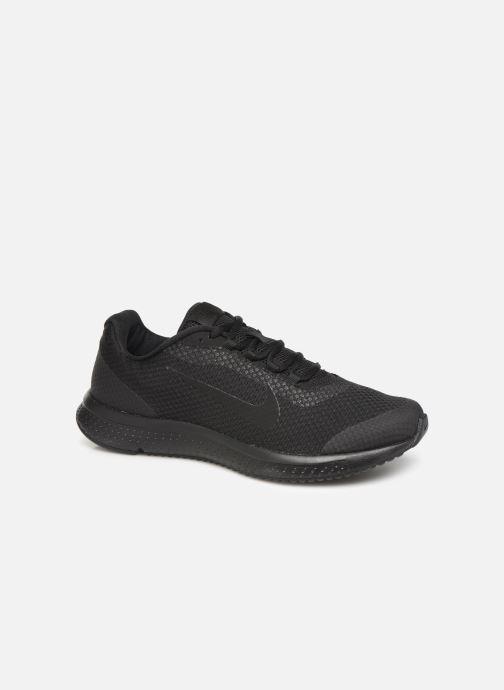 Sportssko Nike Nike Runallday Sort detaljeret billede af skoene