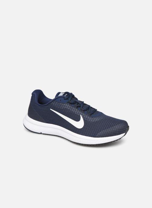Chaussures de sport Nike Nike Runallday Bleu vue détail/paire