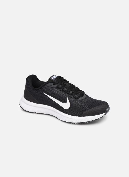 Chaussures de sport Nike Wmns Nike Runallday Noir vue détail/paire
