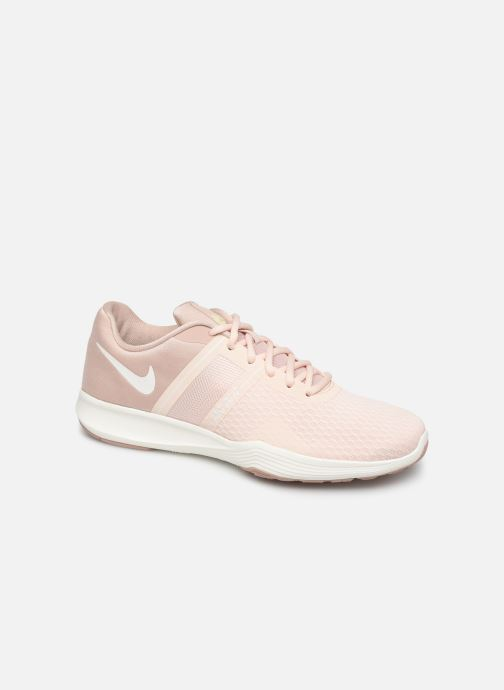 Sport shoes Nike Wmns Nike City Trainer 2 Beige detailed view/ Pair view