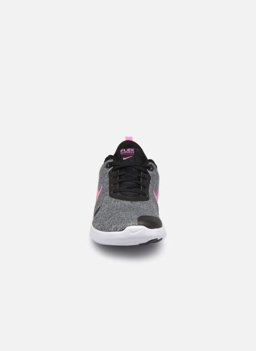 Scarpe sportive Nike Wmns Nike Flex Experience Rn 8 Grigio modello indossato